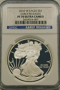 2018-W American Silver Eagle Proof NGC PF70 UCAM Early Releases Star Label