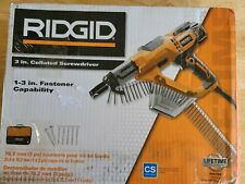 Ridgid R6791 1 3in Drywall And Deck Collated 65 Amp Screwdriver Screwgun