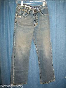 Ezekiel-Denim-Jeans-size-30-Waist-Fade-Emo-Designer-Inseam-29