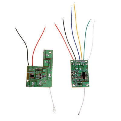 4CH 2.4G Wireless Transmitter and  Receiver Board for DIY Remote Control Cars