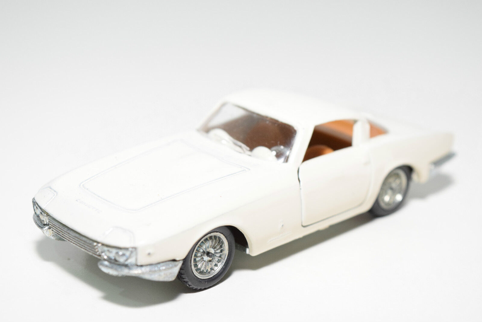 POLITOYS EXPORT 556 CHEVROLET CORVETTE RONDINE CREAM NEAR MINT CONDITION