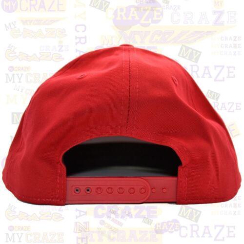 TopCul LA Red Snapback Baseball Cap