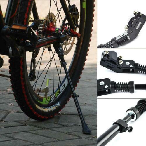 MTB Road Mountain Bicycle Cycling Alloy Adjustable Side Bike Stand# Kicksta B5C0