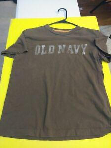 11dcbab1c731 Men s Old Navy Tee Shirt Color BROWN Medium M 94 Short Sleeve Summer ...