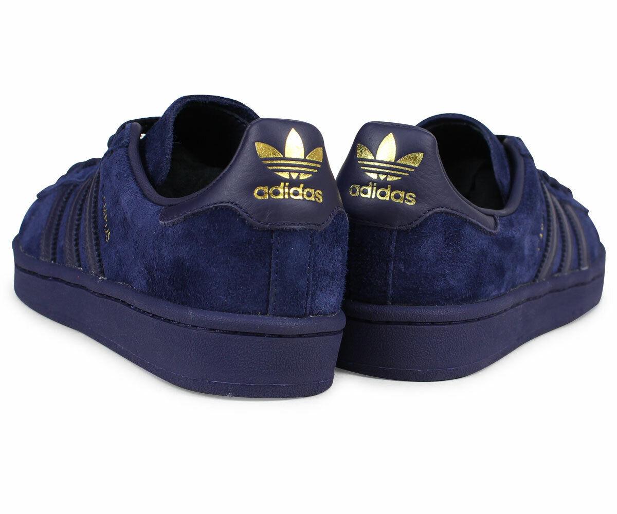 c7343d9cb Adidas Originals Campus gold Dark Navy bluee Suede Noble Ink BZ0078 Men s 9  shoes