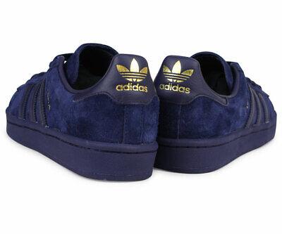 Adidas Originals Campus GOLD Dark Navy Blue Suede Noble Ink CQ2045 SZ 9.5 Shoes   eBay