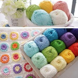 1-50G-Crochet-Yarn-Milk-CottonChildren-Supplies-Crochet-hand-Knitting-Yarn