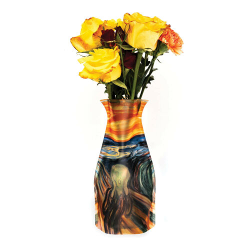 The Scream Design Modgy Plastic Expandable Vases BPA-Free Home Event