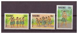 Nauru-Einheimische-Danses-Minr-330-332-1987