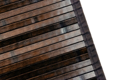 Ridder Bambou 60 x 90 cm holzvorleger Bambou Tapis Tapis Natte Marron