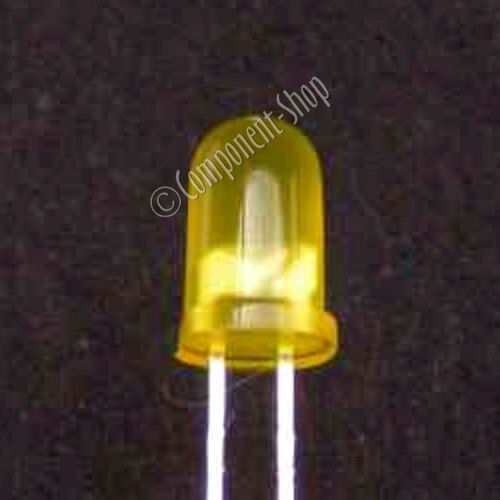 YELLOW Standard 5mm LEDs Pack of 50 UK