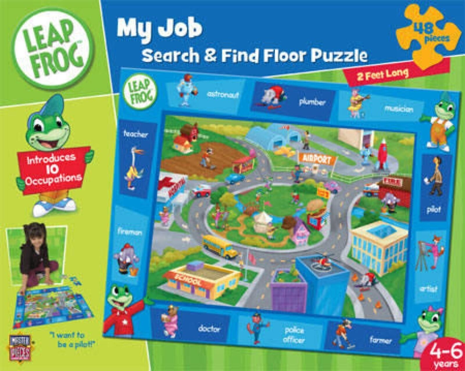 Nuevo Leapfrog mi Juego Search And Find Puzzle Puzzle Puzzle  100% autentico