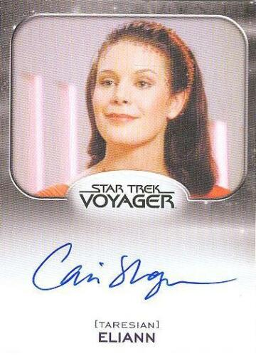 2014 Star Trek Aliens Cari Shayne As Eliann Autograph Card! MINT! VERY LIMITED!