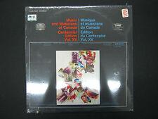 Music and Musicians of Canada Centennial Edition Vol. XV Bouchard Morisset
