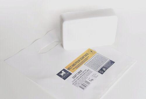 Seifen Basis Ziegen Milch - Seifenbasis Rohseife Schmelzen & Gießen 1 kg