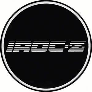 2 1 8 Gta Wheel Center Cap Emblem Chrome Iroc Z Logo And Black Background Ebay