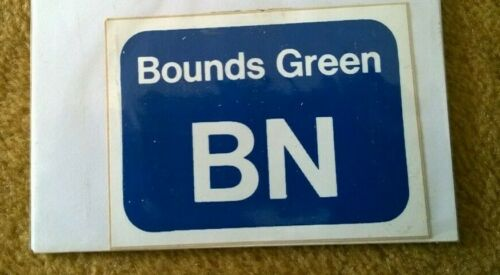 British Rail Bounds Green Train Depot Sticker 10cm x 7.5cm Help Tornado 60163