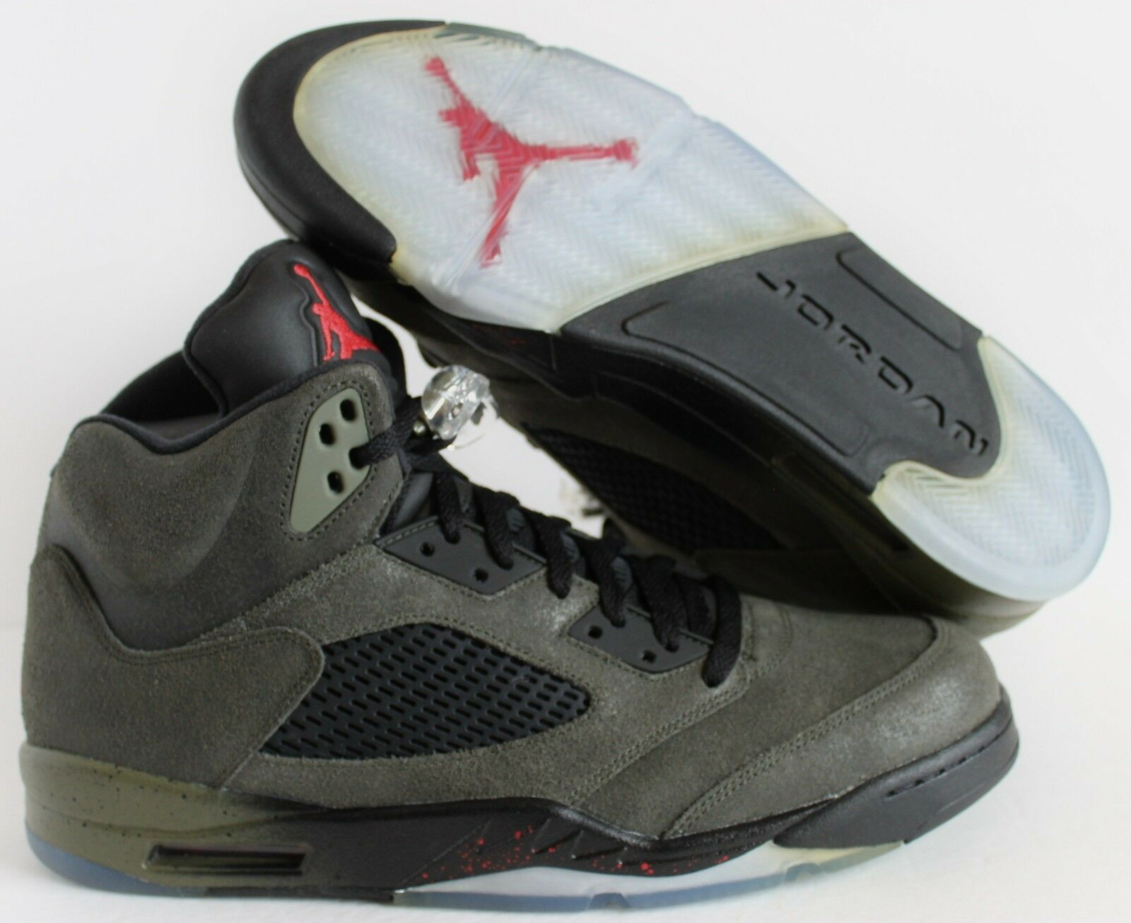 NIKE AIR JORDAN 5 RETRO FEAR 5 SZ 14 [626971-350]