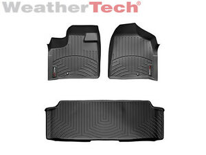 WeatherTech FloorLiner Mats for Dodge Journey 2011-2018 1st 2nd 3rd Row Tan