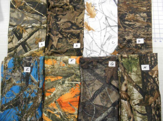 SPANDEX camo camouflage fabrics True Timber 2-&4-way stretch litewgt FREE SHIP