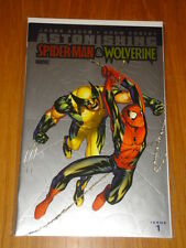 ASTONISHING SPIDERMAN & WOLVERINE #1 VARIANT EDITION FOIL CVR MARVEL COMICS 2010