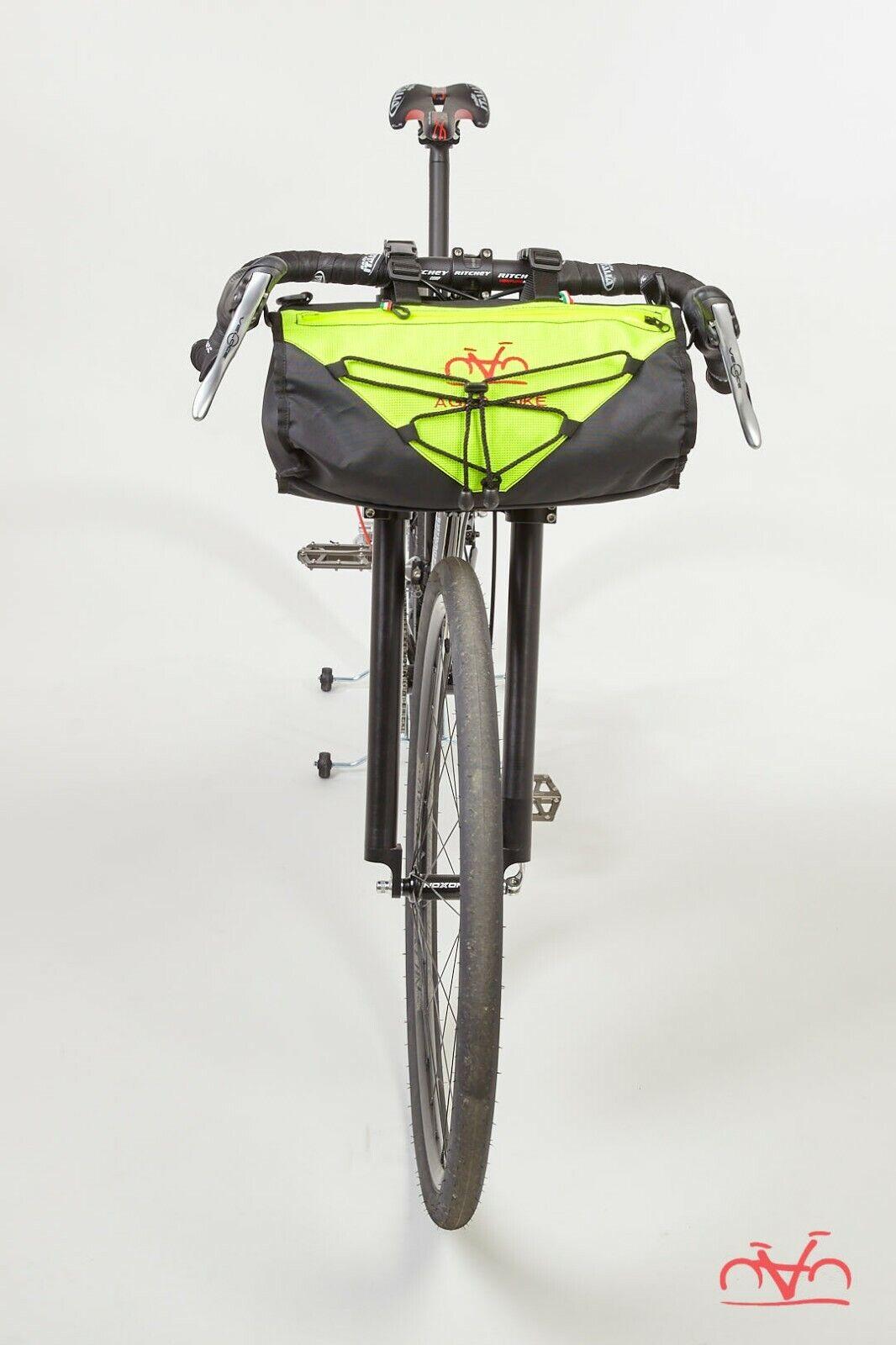 Borsa biciclettapacre uomoubrio Ararat Agar bicicletta 10LT  Gituttia Fluo