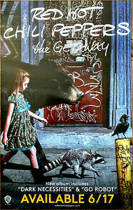 Red Hot Chili Peppers The Getaway Ltd Ed Rare Tour Poster Free Rock
