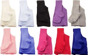 Chicas-bebe-algodon-acanalado-Calzas-gruesa-de-invierno-calido-100-exterior-de-algodon-10-Colores