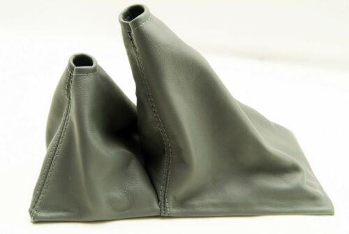 Fits 96-04 Toyota Tacoma 4x4 5spd Real Leather Shift Boot Gray