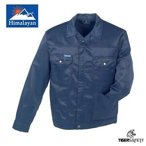 Himalayan-Heavy-Duty-Teflon-Coated-Navy-Blue-Work-Coat-Drivers-Jacket-Workwear