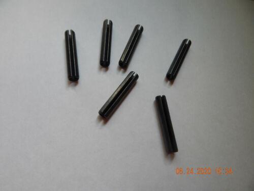 """NEW ROLL PINS   3//8 x 2/""""   CARBON STEEL   6 PCS"""