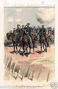 VIETNAM-COCHINCHINE-VICE-AMIRAL-Bataille-Battle-of-Ky-Hoa-GRAVURE-OLD-PRINT-1900