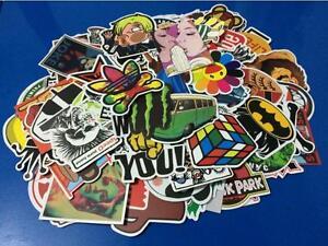 10pcs-Skateboard-Vinyl-Sticker-Skate-Graffiti-Laptop-Luggage-Car-Bomb-Decal-Lot