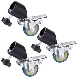 Photo-Studio-Tripod-Easy-Swivel-Caster-Wheel-For-Light-Stands-amp-Studio-Boom-3-034