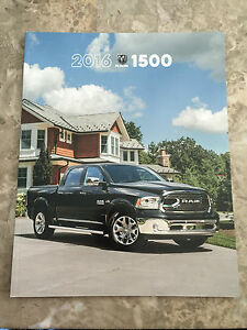 2016 dodge ram 1500 50 page original sales brochure ebay. Black Bedroom Furniture Sets. Home Design Ideas
