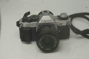 Camara-SLR-Canon-AE-1-35mm-De-Cine-con-Lente-de-28mm-2-8