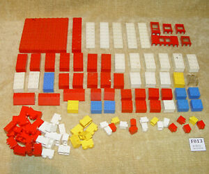 LEGO-Sets-Samsonite-Basic-Set-702-2-Small-Basic-Set-1961-100-Vintage