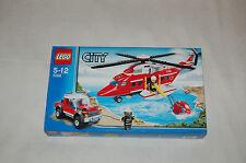 LEGO CITY 7206 Feuerwehrhubschrauber NEU und ungeöffnet! passt zu 7208,7207,7239