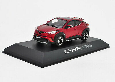 1//43 Toyota CHR C-HR Black Diecast Car model Collection Toy