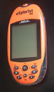 GPS-Magellan-EXPLORIST-100-FIX-OR-PARTS-only-as-is