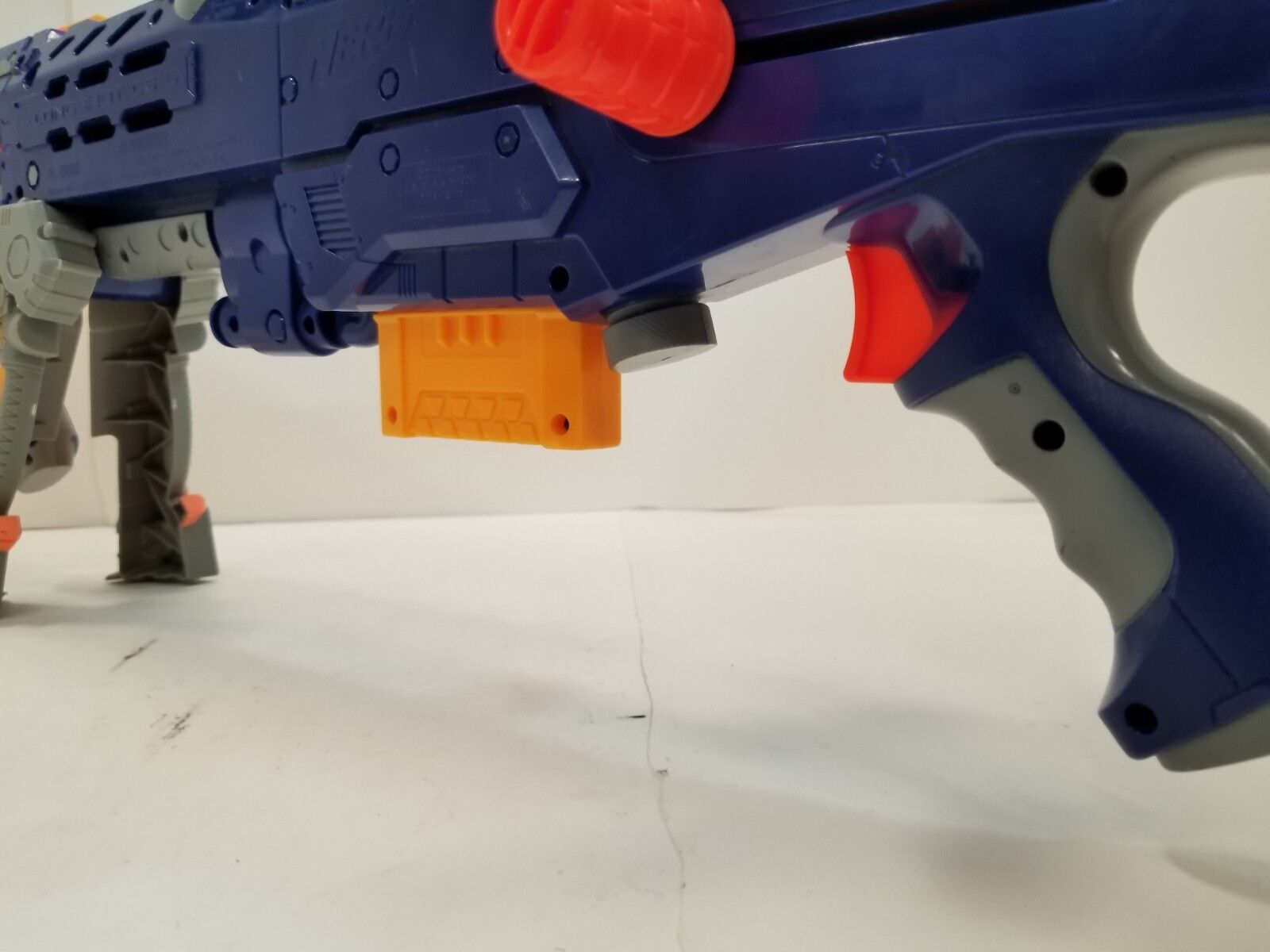 Nerf N-Strike Longshot CS-6 Dart Gun with Two Clips Clips Clips and Darts 217a9f