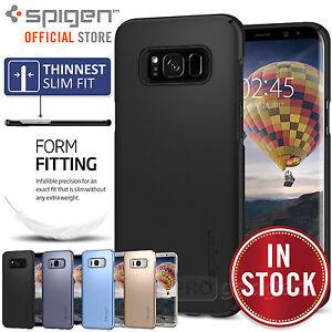 Galaxy S8 / S8 Plus Case, Genuine SPIGEN Ultra Thin Fit Slim Cover for Samsung