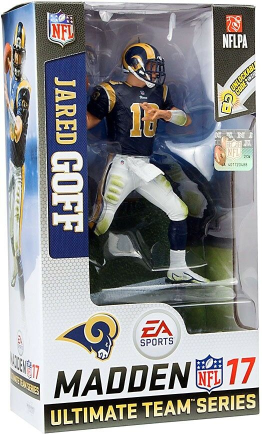 NFL EA Sports Madden 17 Ultimate Team Series 3 Jared Goff Action Figure