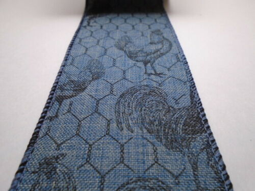 """Chicken Wire 2.5/"""" Wire Ribbon*Farming*Country Life*Rustic*Choose Length /& Color*"""