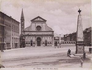 Florence Firenze Italia Vintage Albumina Ca