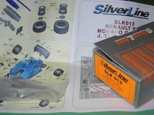 SilverLine-Tameo-1-43-KIT-SLK-013-Renault-R24-Monaco-GP-2004-Winner-Trulli-NEW