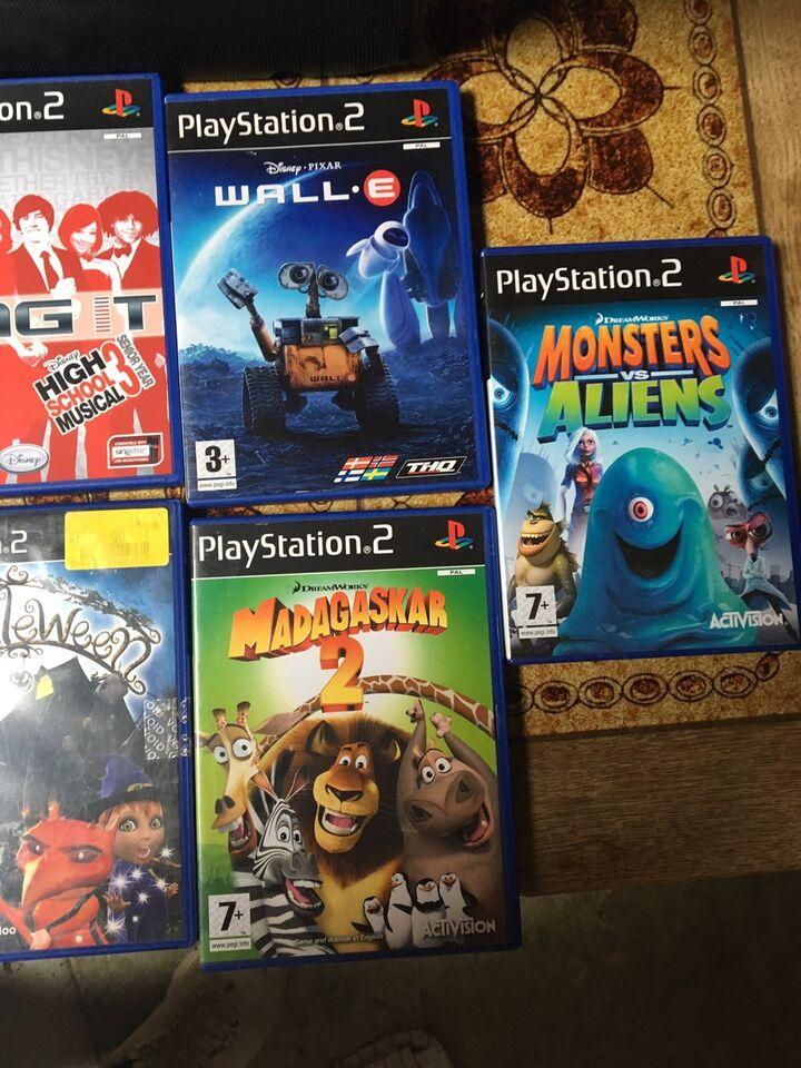 Forskellige spil til PS2 sælges, PS2, anden genre