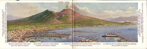 Naples-ITALY-Railway-and-Funicular-for-Mount-Vesuvius-FOLD-OUT-CARD
