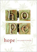Hope 12 Boxed Christmas Cards By Tree-free Greetings
