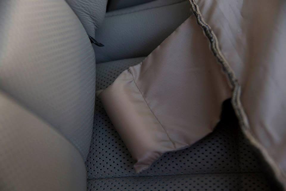 Petego Emanuele Bianchi  Dog Car Auto Pet XL Rear Rear Rear Seat Cover Protector schwarz 865e15